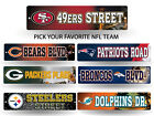 "NFL Teams - Officially Licensed 16"" Football Street Sign Man Cave Wall Decor"