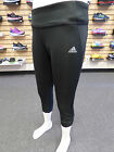 NEW ADIDAS Sequencials Climacool 3/4 Women's Tights - Black/Black:  M61931