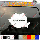 Romanian Map Romania outline Car Decal Sticker