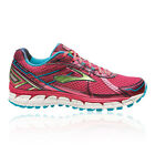 Brooks Adrenaline GTS 15 Womens Red Running Sport Shoes Breathable Trainers New