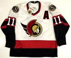 DANIEL ALFREDSSON OTTAWA SENATORS 1990'S CCM MASKA REPLICA JERSEY NEW WITH TAGS $199.99 USD on eBay