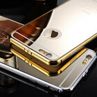 1X NEW Luxury Aluminum Ultra-thin Mirror Metal Case Cover for iPhone 6 6+ Plus