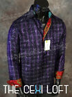 "Mens LIMITED EDITION Robert Graham SILK Sport Shirt ""MR BIG"" in Purple Plaid"