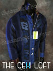 "Mens LIMITED EDITION Robert Graham Sport Shirt ""THE RISK"" in Blue"