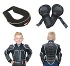 Kids MX Motorcross Wulfsport Defender Jacket Knee Pads Neck Brace Armour Set #20