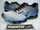 New Mizuno Wave Prophecy 4 Running Pro Shoes Mens Athletic White Blue J1GC150009