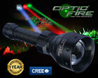 Opticfire TX-67 T67 LED hunting light torch lamp NV nightvision red green XML IR