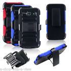 Armor Hybrid Rugged Clip Case Cover Stand for�Huawei Tribute Fusion 3 Y536A1
