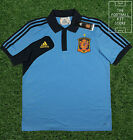 Spain Polo Shirt - Official Adidas Spain Top - Mens - Large / XL