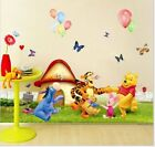 Winnie The Pooh Wall Decals Kids Bedroom & Baby Nursery Stickers Art Decor Room