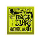 Ernie Ball Regular Slinky Guitar Strings (10 - 46 inc. singles)