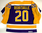 LUC ROBITAILLE LOS ANGELES KINGS CCM VINTAGE PURPLE NHL JERSEY NEW WITH TAGS