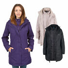 Trespass Alissa Womens 3 in 1 Waterproof Hooded Jacket