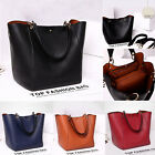 Leather Women Shopper Tote Ladies Totes Purse Handbag Shoulder Bag Casual Bags