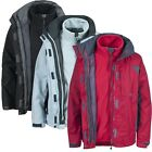 Trespass COMPETE Womens Ladies 3 in 1 Fleece Winter 3in1 Coat Waterproof Jacket