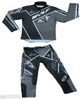 NEW WULFSPORT BLACK TRIALS KITS COMBO PANTS & JERSEY  BETA OSSA TROUSERS SHIRT