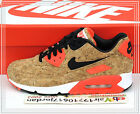 2015 Nike Wmns Air Max 90 Cork 25th Anniversary Bronze Black 726485-700 US 6~7.5