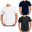 Gildan Heavy Cotton Mens White T Shirt - Bulk Buy Single or Wholesale Job lot