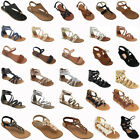 Kyпить New Women Gladiator Sandals Shoes Thong Flops T Strap Flip Flat Size Strappy Toe на еВаy.соm