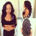 "Beauty Wavy lace wig 100% Brazilian human hair lace wigs 8""-20"" Density 130%"
