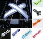 """47"""" 120cm 3M Reflective Flat Shoelaces Running Athletic Safety Shoe Laces String"""