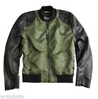 ALPHA INDUSTRIES DIRT BIKE ÜBERGANGSJACKE SAGE GREEN NEUE KOLLEKTION NEU OVP