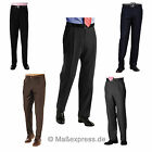 Business Herrenhose Schurwolle in 5 Farben Stoffhose Hose Businesshose Anzughose