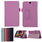 "Luxury Ultra Leather Stand Case Cover  For 7"" HP Stream 7 Tablet PC New Applied"
