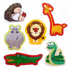 Kids CUTE ZOO ANIMALS Iron Sew On Patch Badge Applique T Shirt Transfer Craft