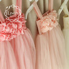Flower Girl Dresses Princess Pageant Wedding Party Communion Birthday Tutu Dress