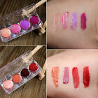 Shimmer Sheer Cover Fashion Bronze Tint Lip Gloss 4 Color Collection Palette