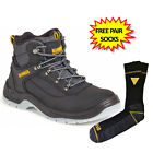 DeWalt Laser Black Safety Boots work boots steel toecap UK sizes 6-12