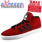 Adidas Originals Mens Rayado Mid Classic Trainers Deep Red * AUTHENTIC *