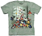 Butterfly Forest Adult T-Shirt Tee