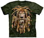 DJ Jahman Rastafarian Lion Big Cat Adult T-Shirt Tee