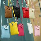 Fashion Cell Phone Mobile Bag Messenger Shoulder Bag Small 7 Colors Hot Sell New