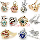 HOT Mexican Bola Chime Sound Ball Pendant Chain Pregnancy Necklace DIY Chic Gift