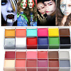 12 Colors Face Body Paint Oil Painting Art Make Up Set Halloween Party Fancy DIY