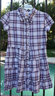 MOSSIMO SUPPLY CO. DRESSRED WHITE AND BLUE, 4TH OF JULY PLAID, RANGE OF SIZES