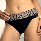 Fantasie Swimwear Goa Gathered Fold Bikini Briefs/Bottoms Black 5243 Select Size