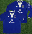 Everton Home Shirt - Official Le Coq Sportif - Short & Long Sleeved - Medium-3XL
