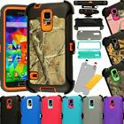 For Samsung Galaxy S5 Shockproof Hard Case Cover (Fits Otterbox Defender Clip)