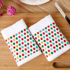 2PCS x party kitchen towel hand towels dish towels hanging kithcen towels cotton