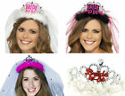 BRIDE TO BE TIARAS WITH VEIL HEN NIGHT PARTY Do Accessories