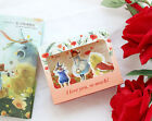 HIMORI C.S Pop up Card - Classic Illustration Pop up Greeting Cards + Casing