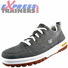 Caterpillar Mens Decade Premium Suede Leather Outdoor Trainers Grey *AUTHENTIC*
