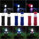 Outdoor Camping Tent Lantern Light Fishing Hikin LED Flashlight Torch Waterproof