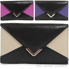 Ladies / Womens Soft Leather Matinee Purse with Multiple Features