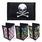 NEW Boys Girls Child Kids Canvas Velcro TriFold Wallet Slim Teens Summer VALUE