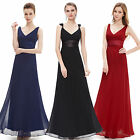 Ever Pretty Sexy Chiffon Womens Long Evening Bridesmaid Party Prom Dresses 09601